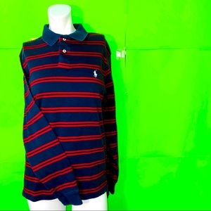 Polo by Ralph Lauren Long Sleeve Collared Striped